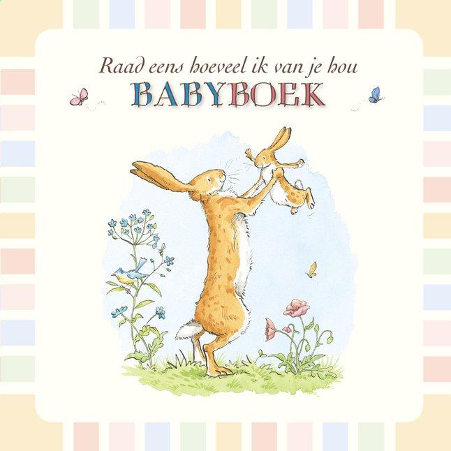 Afbeelding van Babydagboek Raad eens hoeveel ik van je hou from Dreambaby