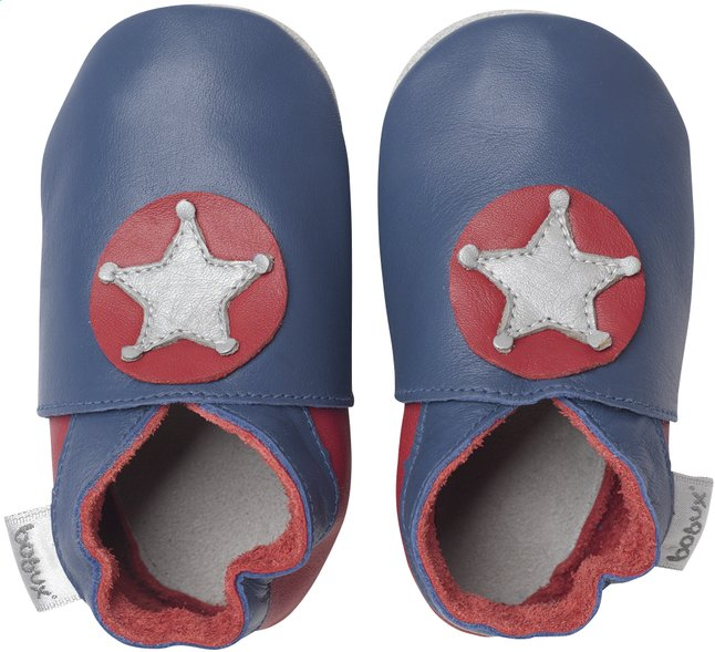 Afbeelding van Bobux Schoentjes Soft soles Cobalt Little Sheriff maat 16/17 from Dreambaby