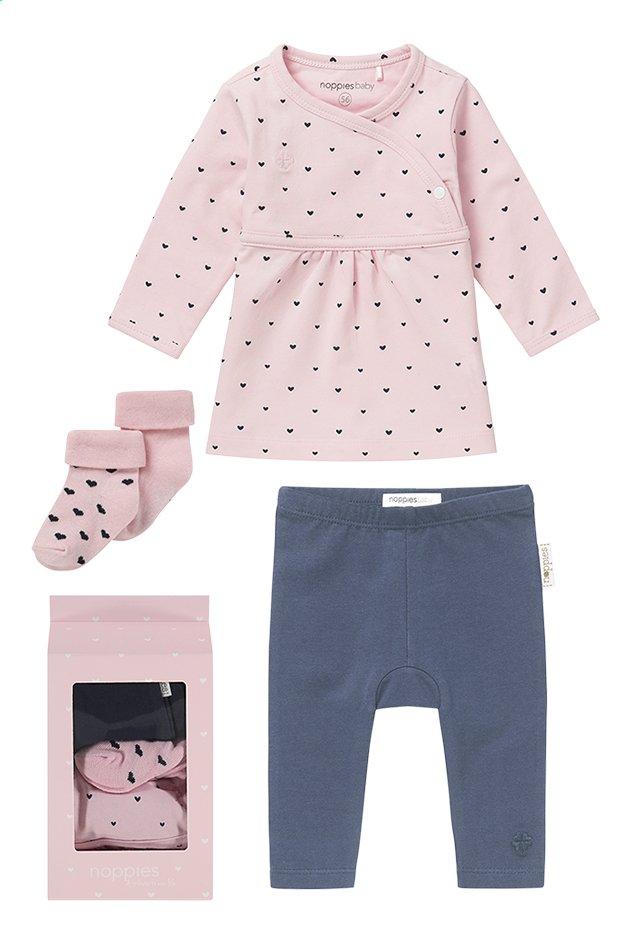 Afbeelding van Noppies Geschenkset roze Noppies Geschenkset roze maat 56 from Dreambaby