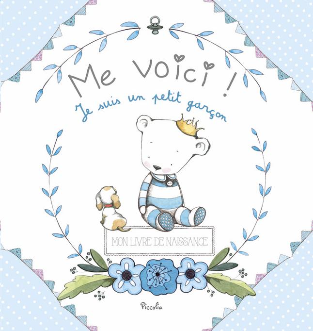 Afbeelding van Babydagboek Me Voici! Je suis un petit garçon FR from Dreambaby