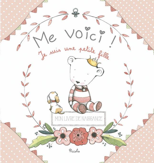 Afbeelding van Babydagboek Me Voici! Je suis une petite fille FR from Dreambaby