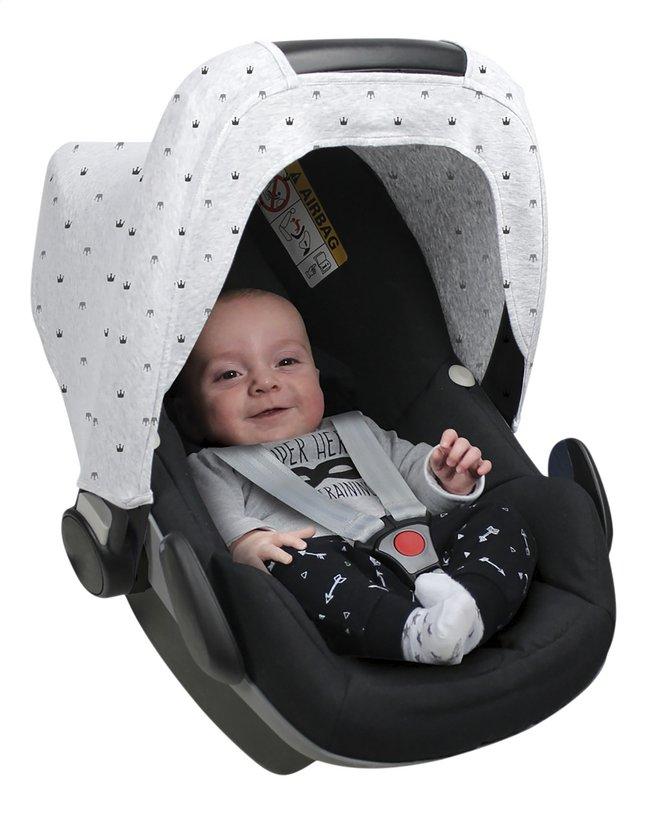 Image pour Dooky Capote pare-soleil pour siège-auto portable couronne gris clair à partir de Dreambaby