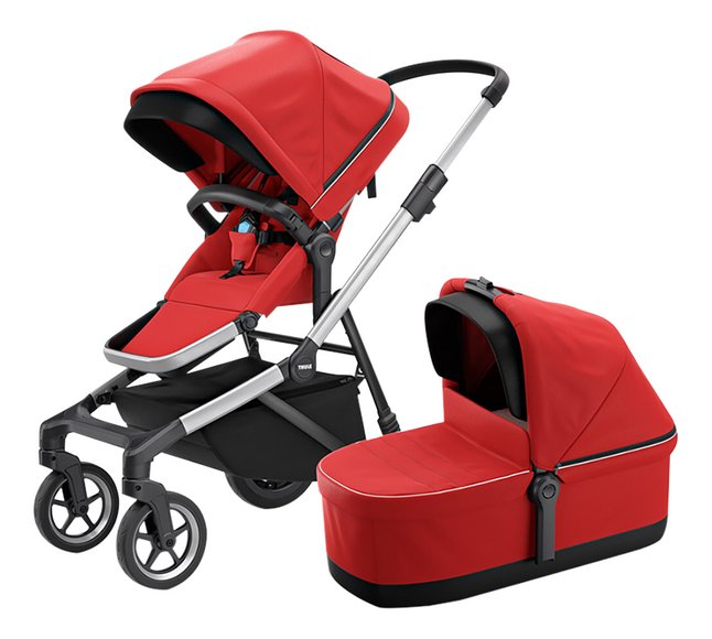 Thule Wandelwagen Sleek energy red