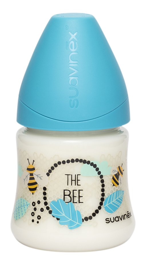 Suavinex Zuigfles Fusion Bee blauw 150 ml
