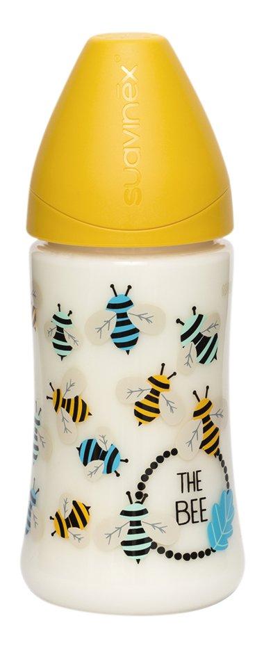 Suavinex Zuigfles Fusion Bee geel 270 ml