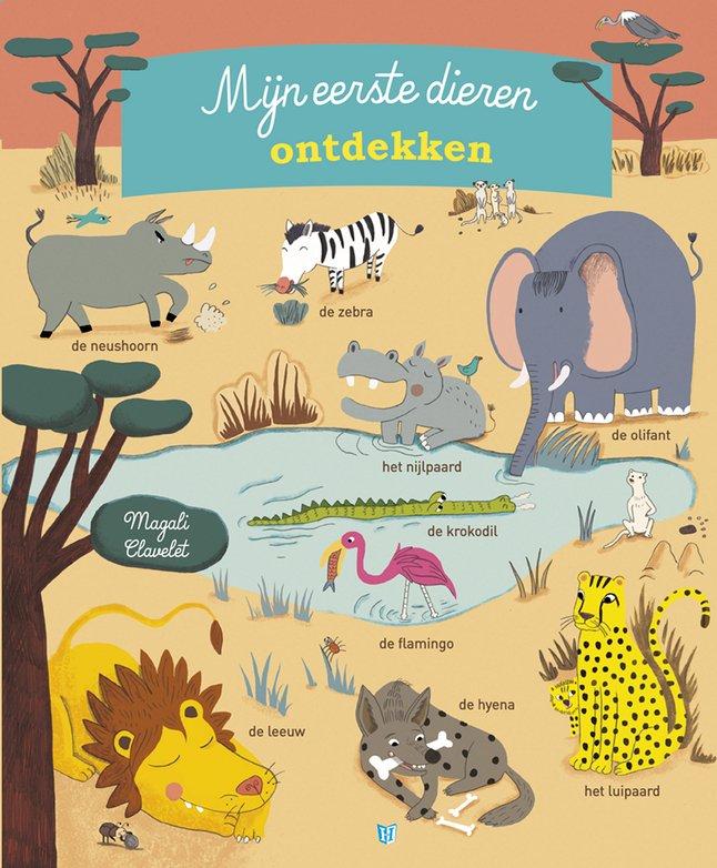 Image pour Livre pour bébé Mijn eerste dieren ontdekken - Magali Clavelet NL à partir de Dreambaby