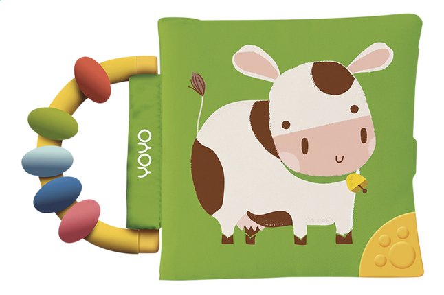 Image pour Livre en tissu vache mix à partir de Dreambaby