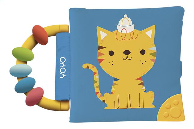 Afbeelding van Knuffelboekje kat mix from Dreambaby