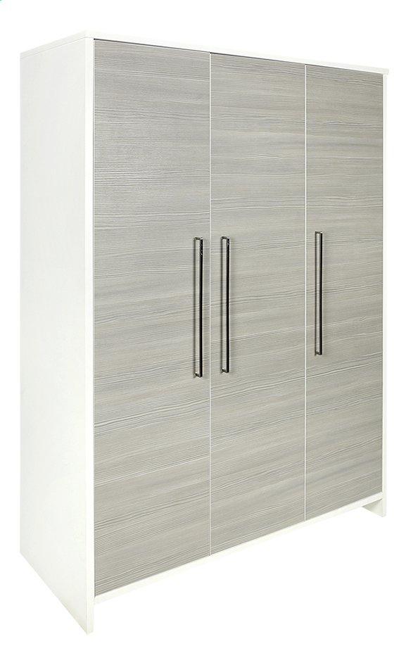 Image pour Schardt Armoire 3 portes Eco Silver décor blanc à partir de Dreambaby