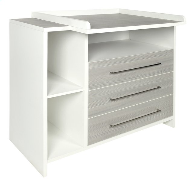 Afbeelding van Schardt Commode Eco Silver from Dreambaby