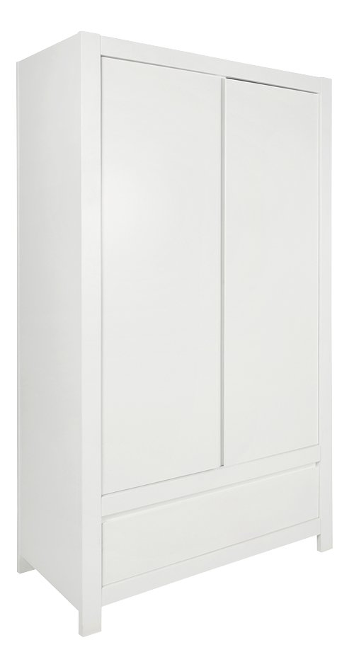 Image pour Troll Armoire 2 portes Loft décor blanc à partir de Dreambaby