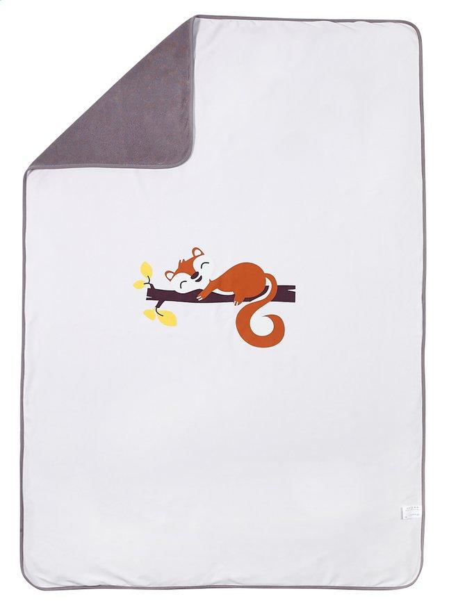 Image pour Dreambee Couverture pour lit Ayko gris clair coton/polyester à partir de Dreambaby