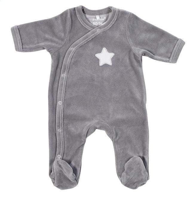 Afbeelding van Dreambee Pyjama Essentials ster grijs maat 50/56 from Dreambaby