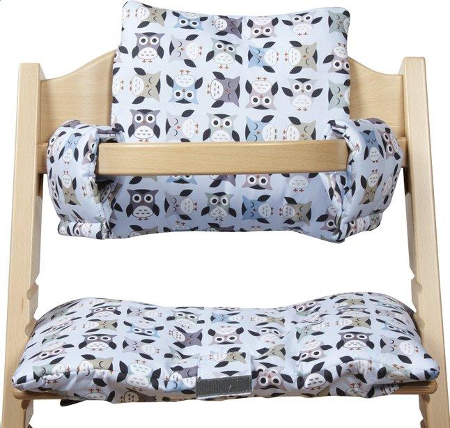 Image pour Trixie Coussin réducteur pour chaise haute Owls à partir de Dreambaby