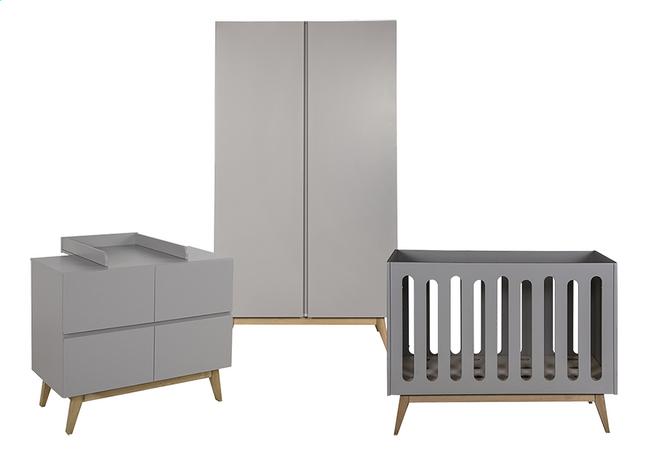 Deuren Voor Kinderkamers : Quax delige babykamer met kast met deuren trendy griffin grey
