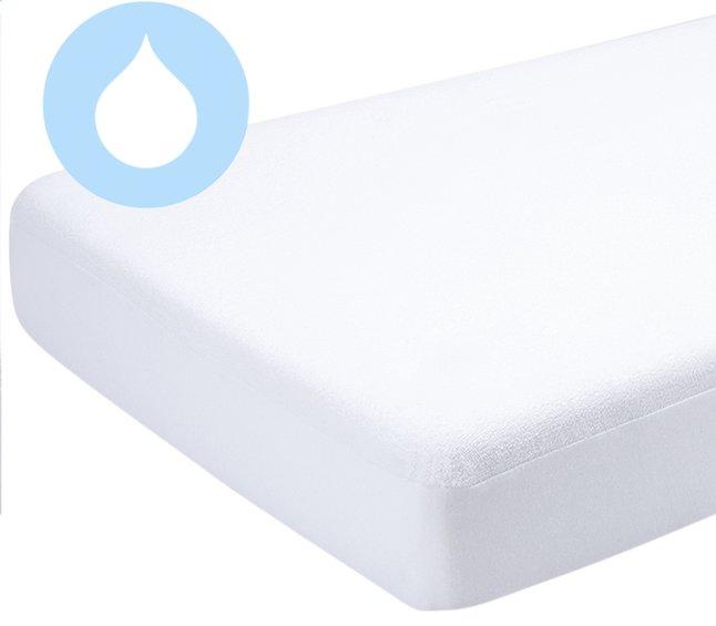 Image pour Bemini Protège-matelas pour lit coton/polyuréthane (PU) Lg 60 x L 120 cm à partir de Dreambaby