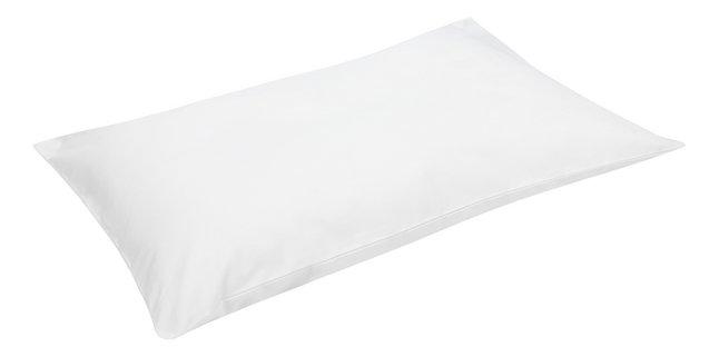 Dreambee Kussensloop Essentials wit katoen