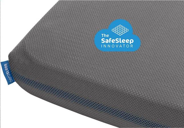 Aerosleep Matras Ledikant : Aerosleep hoeslaken voor bed grijs b 60 x l 120 cm dreambaby