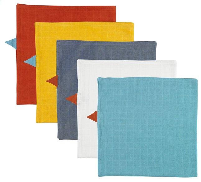Afbeelding van Dreambee Tetradoek Essentials in hippe kleuren - 5 stuks from Dreambaby