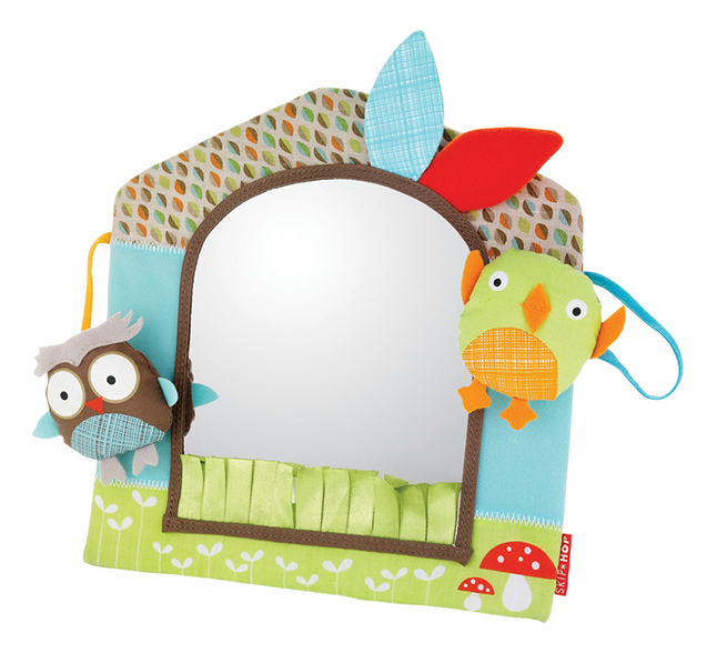 Afbeelding van Skip*Hop Spiegel Treetop Friends Friendly Forest Activity Mirror from Dreambaby