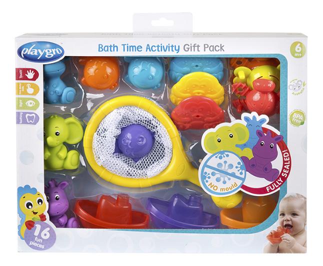 Playgro badspeelgoed Bath Time Activity Gift Pack - 16 stuks