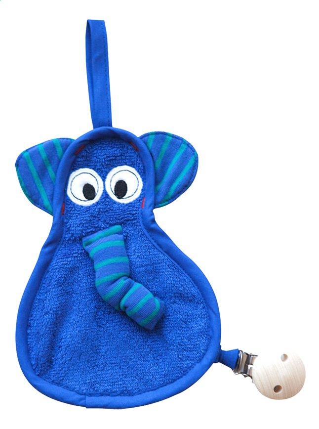 Image pour Timboo Chiffon pour sucette éléphant indigo à partir de Dreambaby