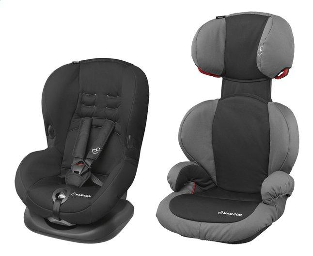 Maxi-Cosi Autostoel Priori SPS Groep 1 + Rodi SPS Groep 2/3 slate black