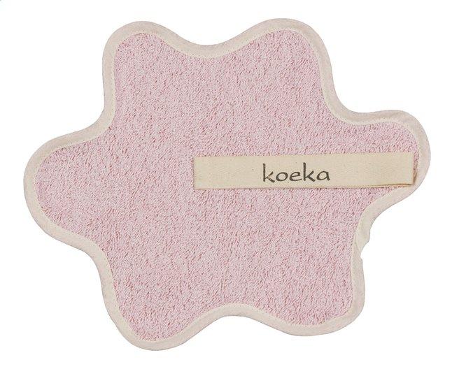 Afbeelding van Koeka Fopspeendoekje Rome baby pink from Dreambaby