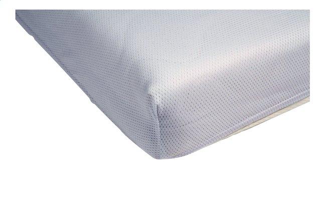 Afbeelding van Airgosafe Hoeslaken voor bed wit polyester B 60 x L 120 cm from Dreambaby