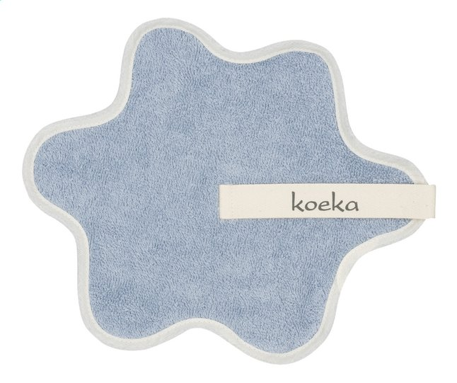 Afbeelding van Koeka Fopspeendoekje Rome soft blue from Dreambaby