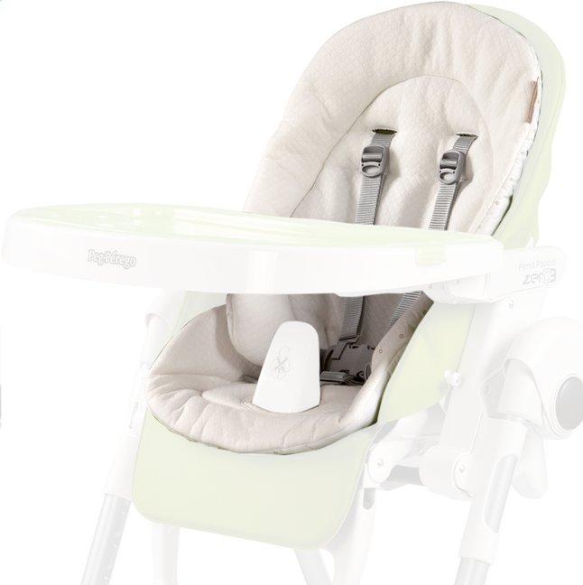 Image pour Peg-Pérego Coussin réducteur pour chaise haute blanc à partir de Dreambaby