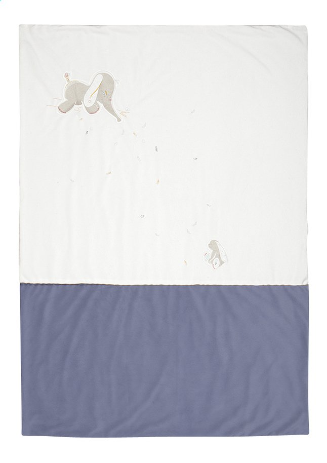 Afbeelding van Noukie's Deken voor bed Bao & Wapi polyester from Dreambaby
