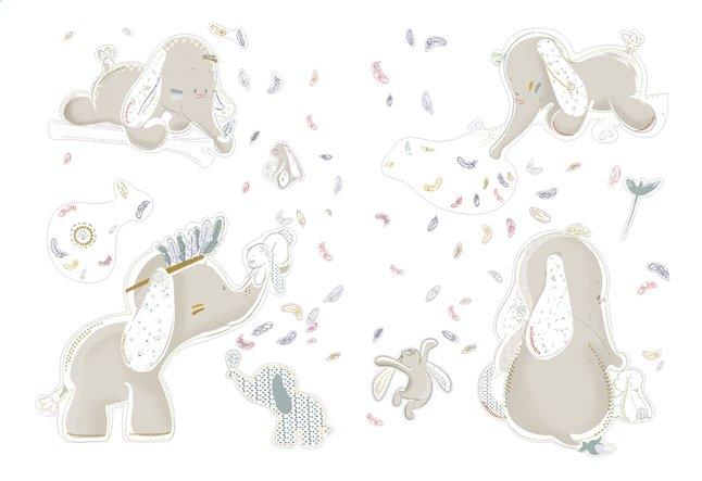 Afbeelding van Noukie's Muursticker Bao & Wapi from Dreambaby