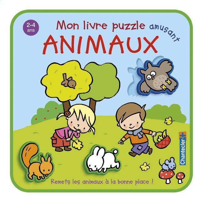 Image pour Chantecler Livre Mon livre puzzle amusant Animaux à partir de Dreambaby
