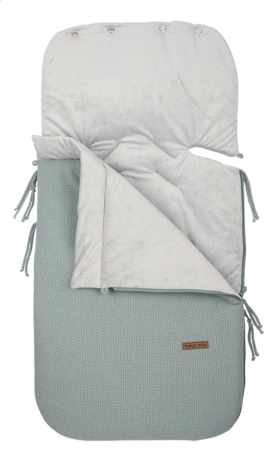 Afbeelding van Baby's Only Voetenzak voor draagbare autostoel Classic stone green from Dreambaby
