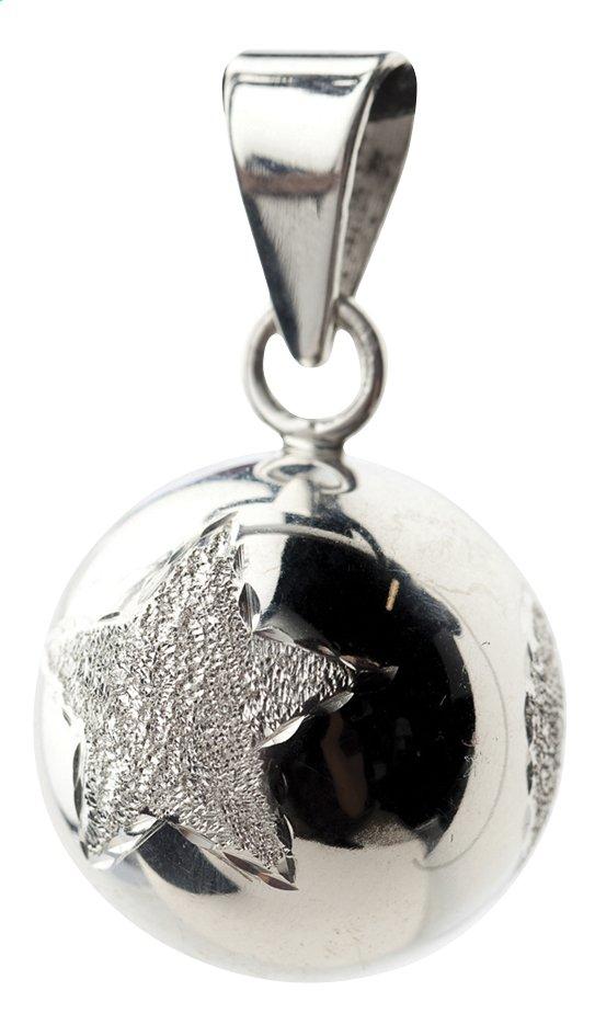 Afbeelding van Babylonia Zwangerschapsbelletje Bola ster/bloem/hart zilver from Dreambaby