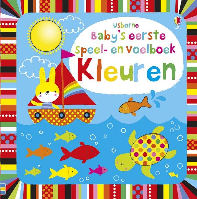Afbeelding van Babyboek Baby's eerste speel- en voelboek - kleuren from Dreambaby