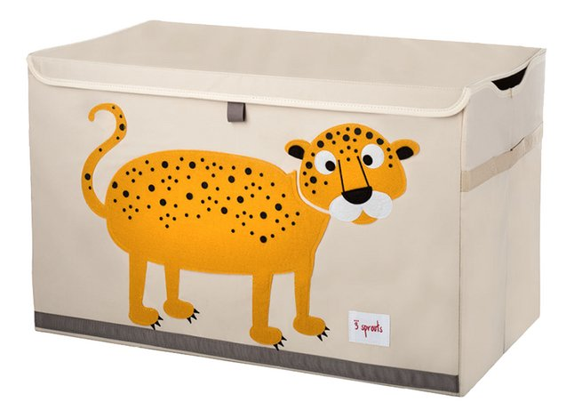 3Sprouts Speelgoedkoffer luipaard
