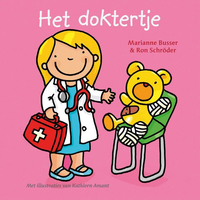 Afbeelding van Boek Het doktertje from Dreambaby