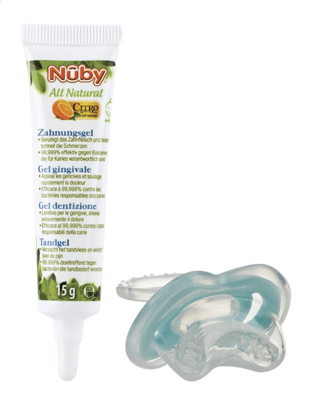 Image pour Nûby Gel gingival Citroganix à partir de Dreambaby