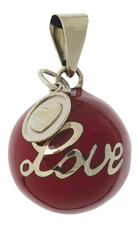 Afbeelding van Babylonia Zwangerschapsbelletje Bola Love rood from Dreambaby