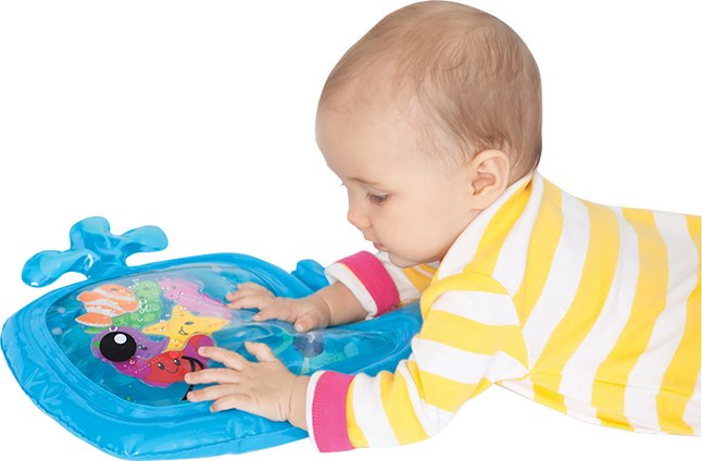 Infantino Activiteitenspeeltje Sensory Pat & Play whale