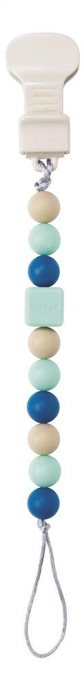 Afbeelding van Nattou Fopspeenketting Lapidou mint from Dreambaby