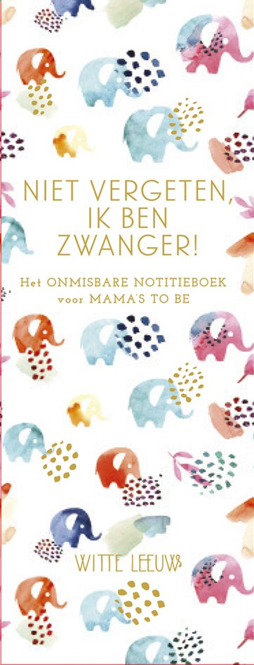 Afbeelding van Boek Notitieboekje: Niet vergeten, ik ben zwanger! from Dreambaby