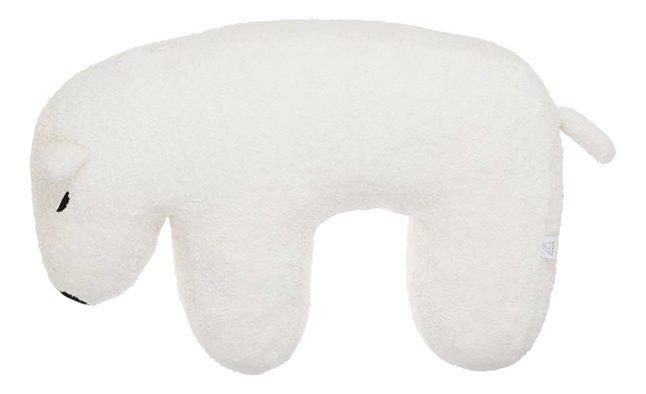Nanami Coussin d'allaitement Nanook ours polaire off white/écru