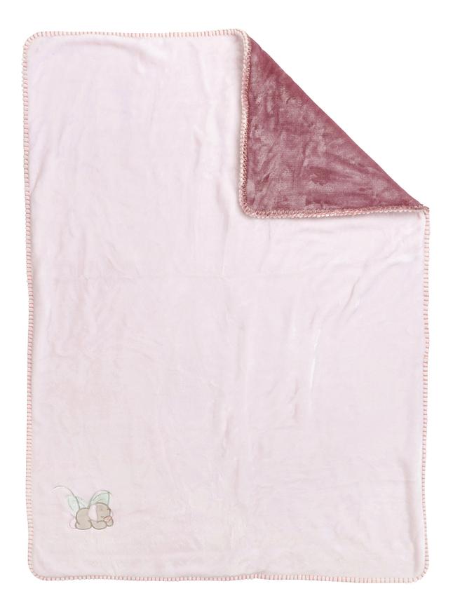 Nattou Deken Iris & Lali supersoft polyester roze