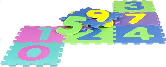 Image pour DreamLand Tapis-puzzle chiffres - 10 pièces à partir de Dreambaby