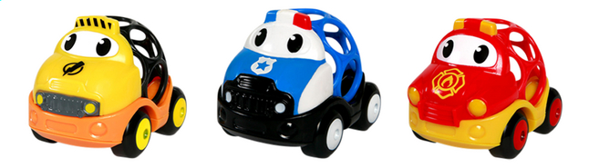 Image pour Oball Voiture Go Grippers Emergency - 3 pièces à partir de Dreambaby