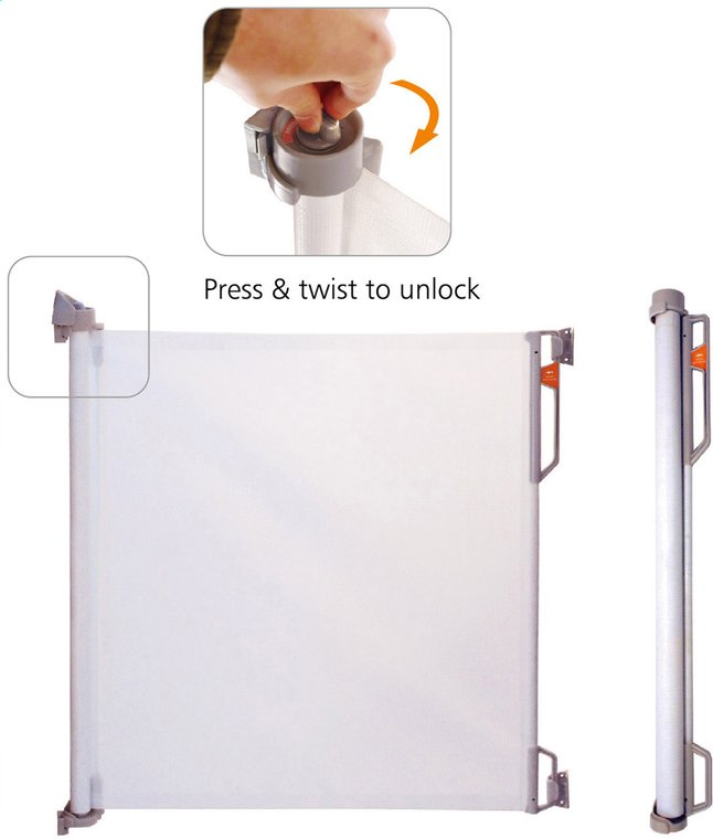 Image pour Quax Barrière de porte et d'escalier Compact Mesh blanc à partir de Dreambaby