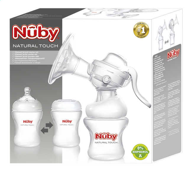 Afbeelding van Nûby Manuele borstkolf Natural Touch from Dreambaby